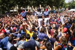 Diada Castellera de Les Santes 2017
