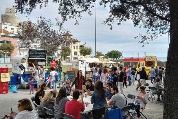 Maresme 2017, sant pol food trucks